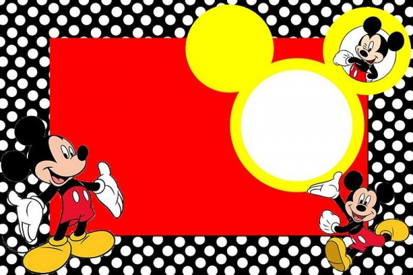 Fazendo A Minha Festa!  Mickey Tradicional