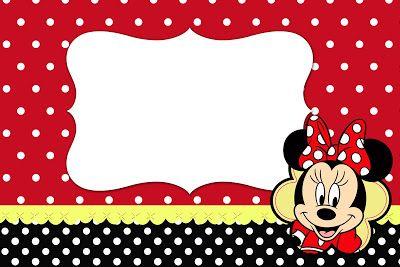 Kit Completo Minnie Vermelha
