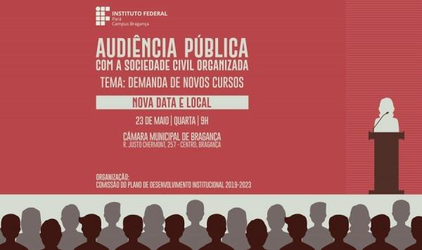 Ifpa Adia Audiência Pública E Renova Convite à Comunidade Para