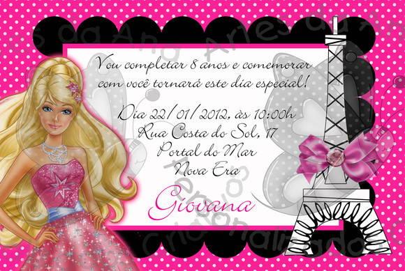 Barbie Moda E Magia Pink E Preto