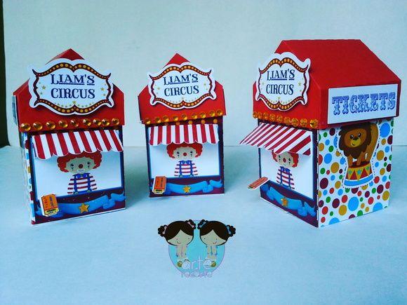 Caixa Bilheteria Circo Circus
