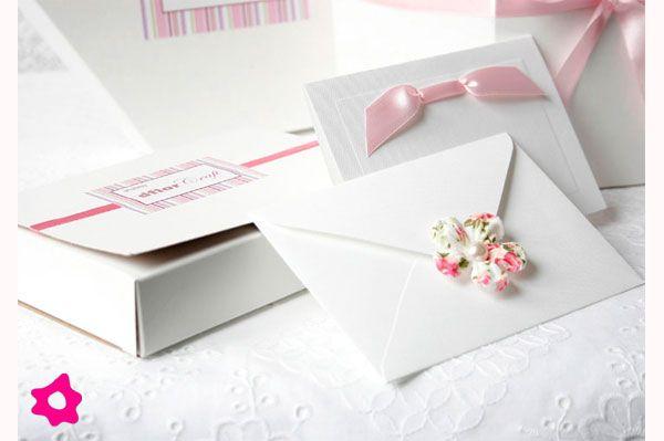 Convite De Casamento Com Florzinha