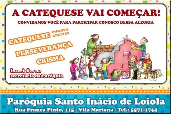 Catequese – Paróquia Santo Inácio De Loiola