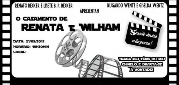 Convite De Cinema