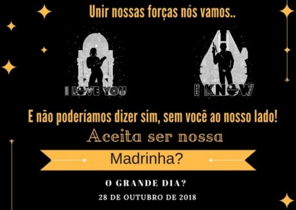 Convite De Padrinhos