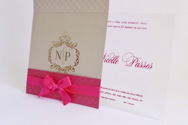 Convite Debutantes