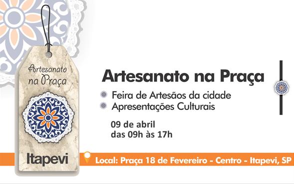 2ª Feira De Artesanato De Itapevi Acontece Em 9 De Abril