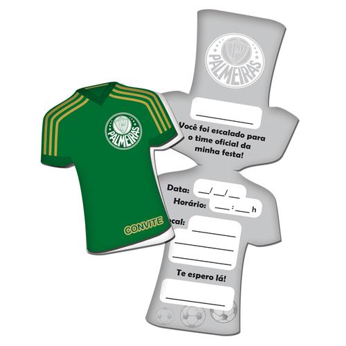 Convite Camisa Palmeiras Festcolor 8un