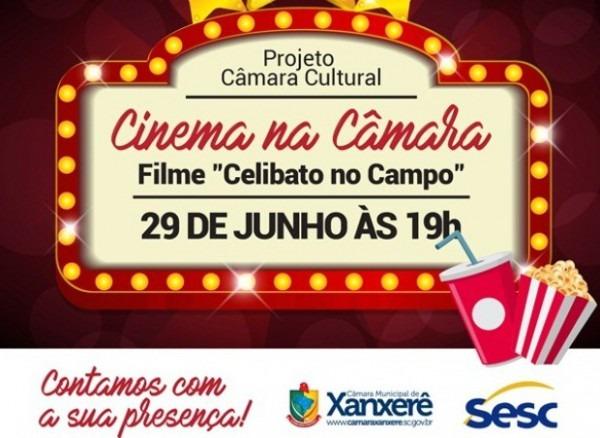 Câmara Municipal De Xanxerê Projeto Cultural Tem Sessão De Cinema