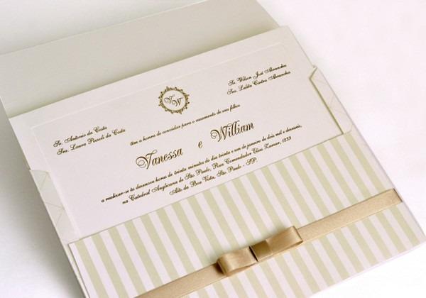 Convite De Casamento Wilson Papel E Estilo