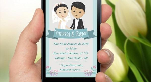 Convite Virtual Animado
