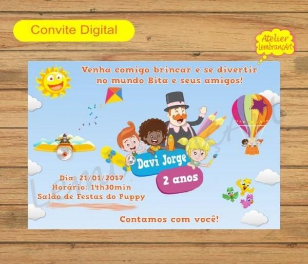 Convite Digital Mundo Bita Mod2