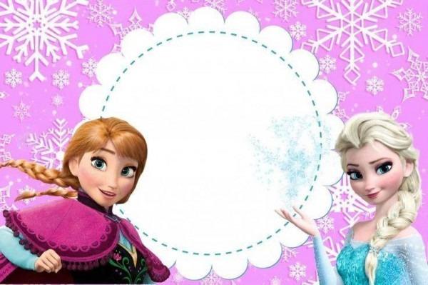 Convite Do Frozen Para Imprimir – Modelos De Convite