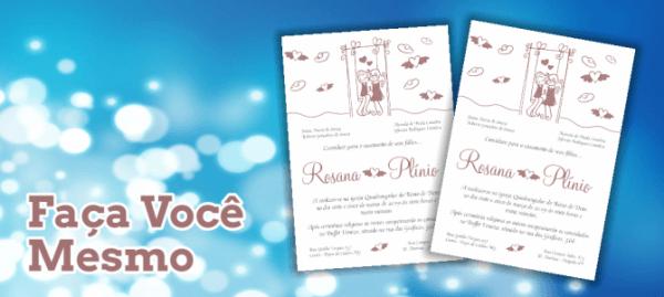 Convites Editáveis