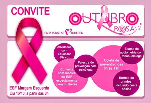 Esf Da Margem Esquerda Comemora O Outubro Rosa Com A Comunidade