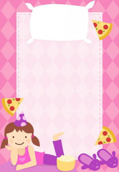 55 Convites Para Festa Do Pijama Para Imprimir & Como Fazer Em Casa!