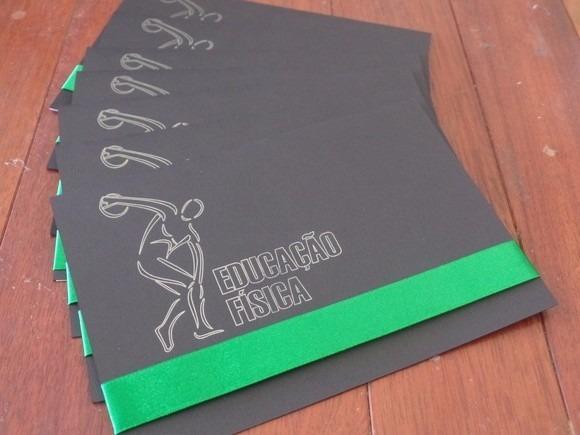 Convite Formatura Educação Física (30 Unidades)