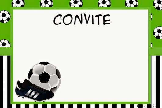 Festa Futebol – Ideias De Decoração, Bolos, Convites & Lembrancinhas!