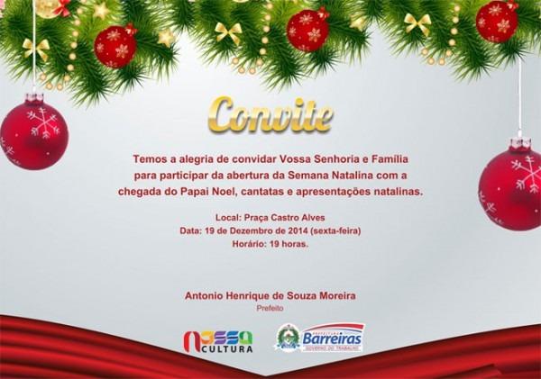 Chegada Do Papai Noel, Cantata E Concerto De Violinos Celebram
