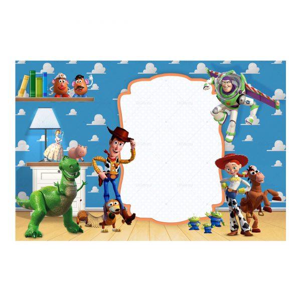 Crear Convite Toy Story Para Editar E Imprimir