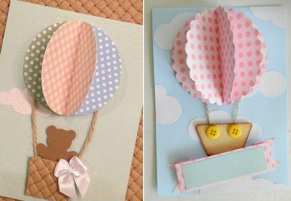 Faça Você Mesma  35 Convites Artesanais Para Chás De Bebê E Festas