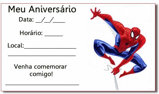 Convites De Aniversario Infantil Masculino » Happy Birthday World