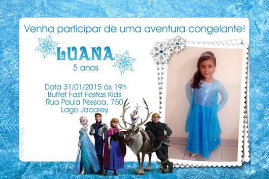 70 Convites Frozen Encantadores Para Você Imprimir & Fazer Agora!