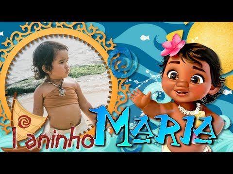 Convite Animado Moana Baby