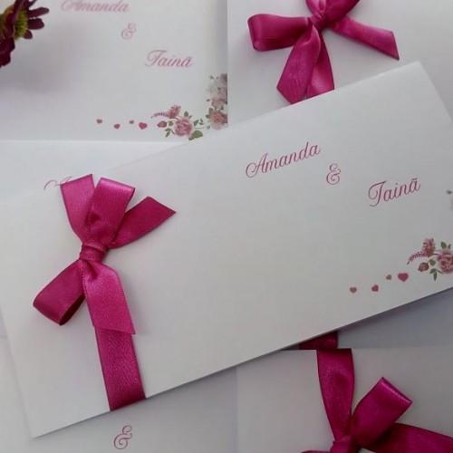 Convite De Casamento Simples Na Rededots Com Br