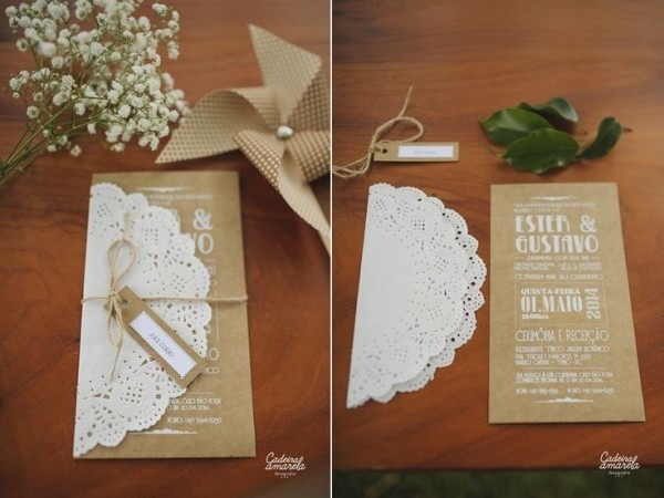 Modelos Inéditos De Convite De Casamento Diy! – Modelos De Convite
