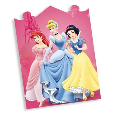 Convite De Aniversário Princesas 08 Unidades