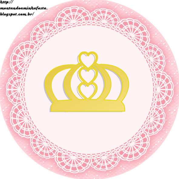 Montando Minha Festa  Kit Digital Gratuito Para Imprimir Princess