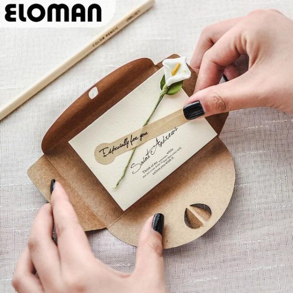 Eloman Rústico Envelope Do Convite De Casamento Convites De
