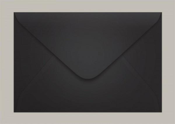 Envelope 160x235 Convite Preto Los Angeles Scrity 100 Un