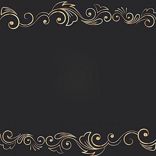 Ouro Preto Tatuagem Imagem De Fundo Nuvens , Fundo Preto, Golden