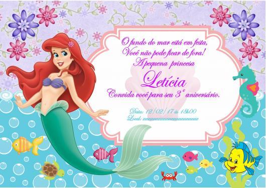 Festa Pequena Sereia   Ariel – 40 Dicas Com Inspirações Apaixonantes!