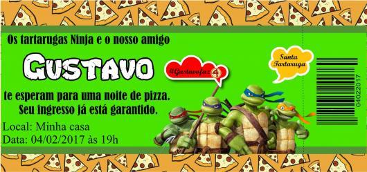 Festa Tartarugas Ninja  40 Ideias Para Deixar Sua Festa Incrível!