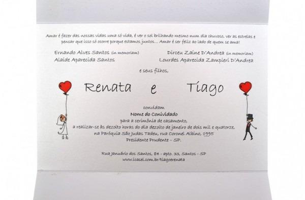 Frases Românticas Para Convites
