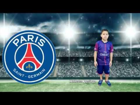 Convite Futebol Paris Saint Germain
