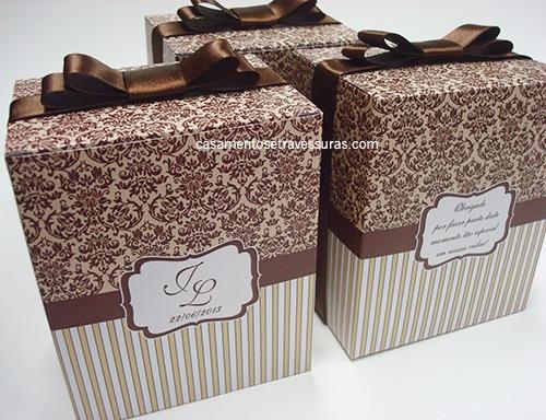 Caixa (vazia) Para Pequenos Presentes Ou Para Gravata Dos