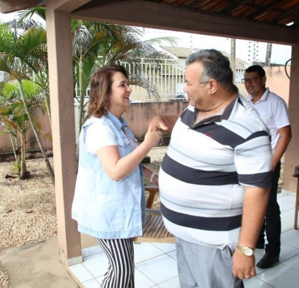 Pastor José Telles Filho Recebe Convite Da Senadora Kátia Abreu E