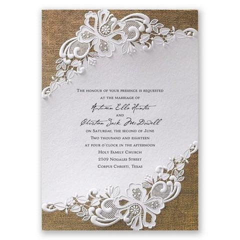 Impressão De Convites De Casamento