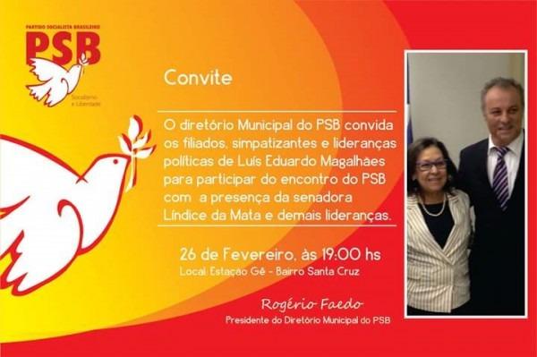 Convite Do Diretório Do Psb