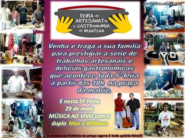 Sitebarra » Convite Feira De Artesanato E Gastronomia De Mantena