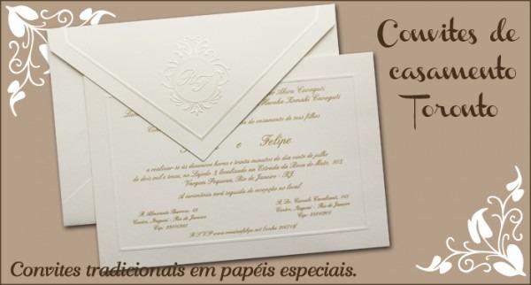 Convites De Casamento Toronto