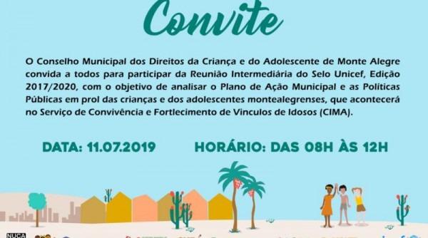 Convite  Reunião Intermediária Do Selo Unicef – Prefeitura De