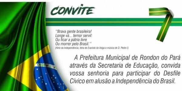 Desfile Cívico De Rondon Do Pará Já Tem Data Para 2018