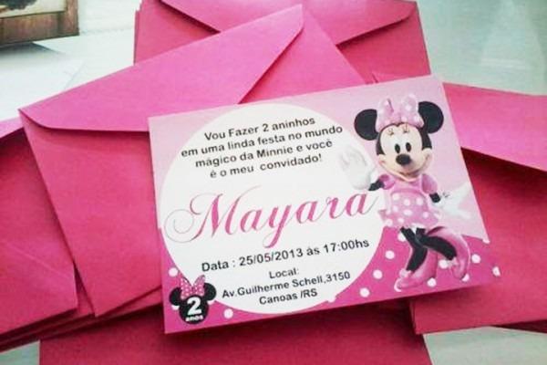 Convites Infantis Personalizados Ou Buquê Para Daminha!