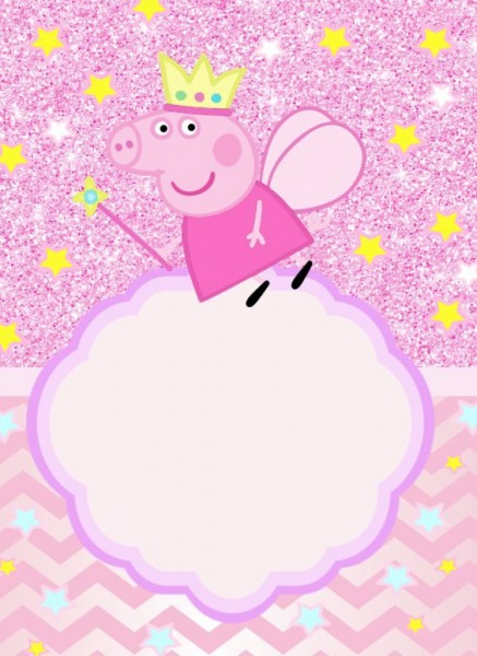 Convite Peppa Pig 106 Png Grátis Para Baixar Jpg,png