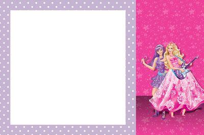 Montando Minha Festa  Barbie Princesa E A Pop Star